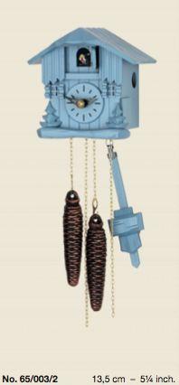 Интерьерные Немецкие часы с кукушкой Hubert Herr 65.004 самые маленькие механические часы с кукушкой в мире! - torgwatch.ru