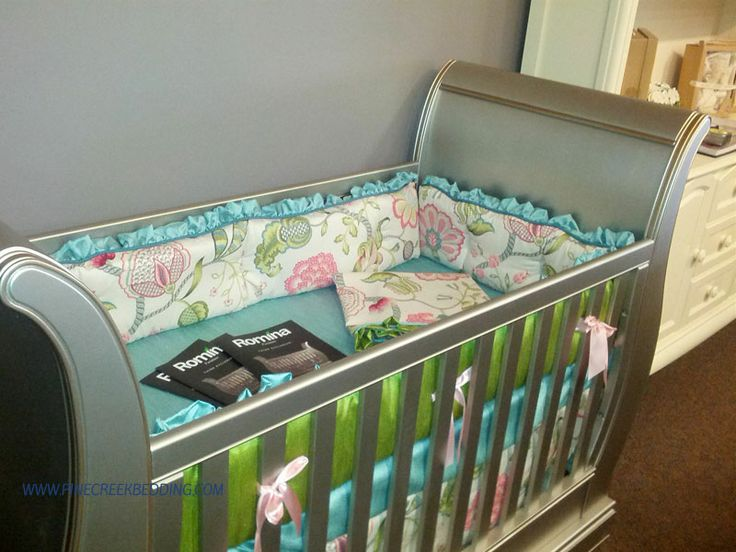 35 Best Images About Tufted Style Crib Bumper Pads On