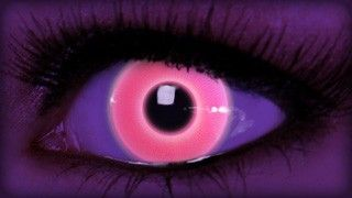 Rave Pink Contact Lenses on ExtremeSFX.com