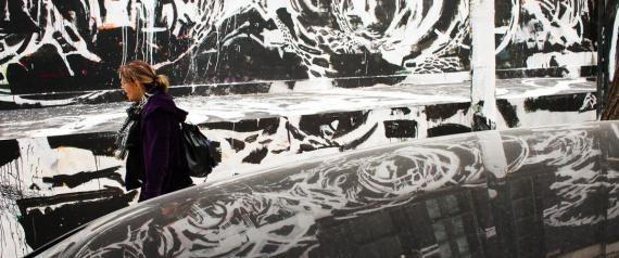 Το καφκικό γκράφιτι του Πολυτεχνείου