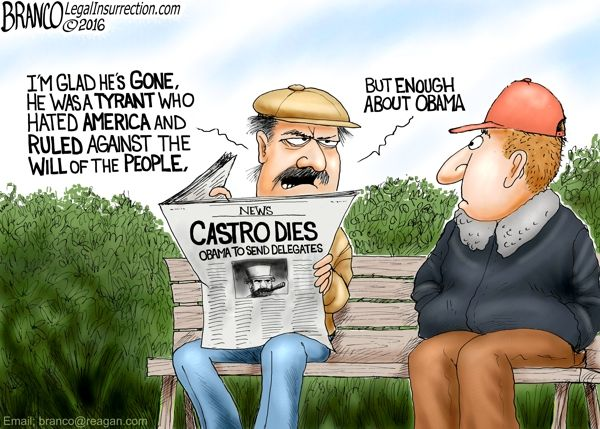 Obama seems to hold Castro in high regard, possibly because he envied his Position as a dictator with unchecked authoritarian power.