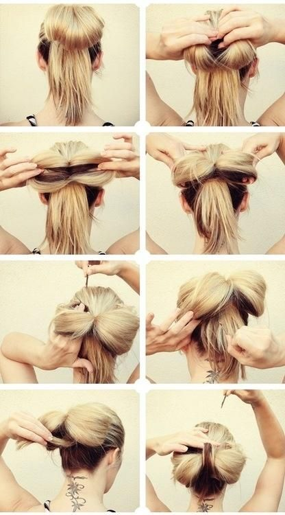 Bow Bun How To - Hair and Beauty Tutorials