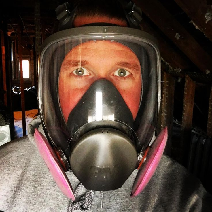 Lets restore a house she said. It will be fun she said. 120 bags of blown insulation later its time to frame the 3rd floor and hang up the mask until drywall sanding. #rehab #construction #renovation #thisoldhouse #oldhouse #victorian #insulation #safety #3m #dirty #fun #arewedoneyet