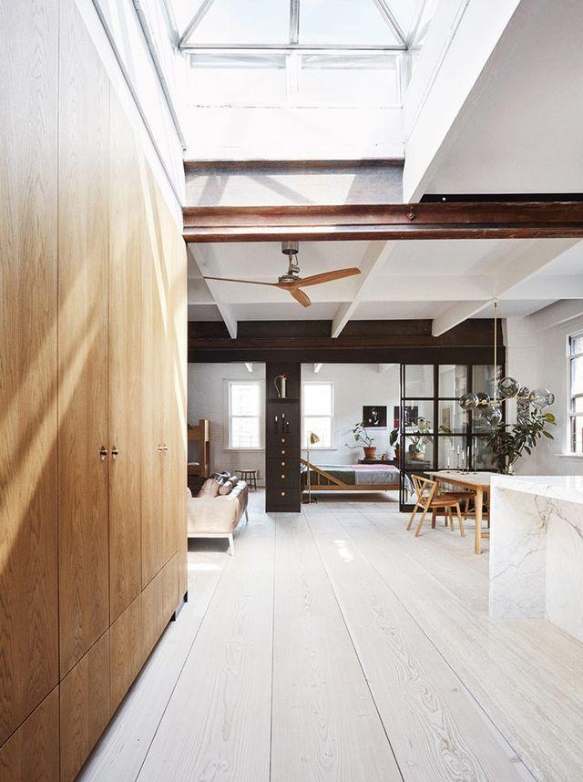 Scandinavian Minimalism in a New York Loft Apartment | Gravity Home