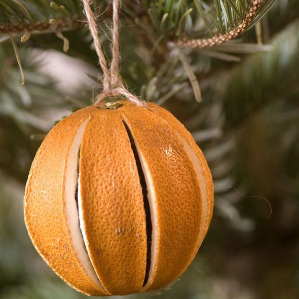 This dried orange will give your tree a homely feel. More decoration ideas at www.goodhousekeeping.co.uk/christmas/christmas-decorations