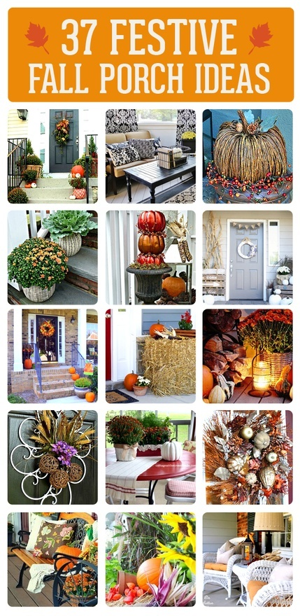 557 best Fall Fantasies images on Pinterest Fall decorating - halloween fall decorating ideas