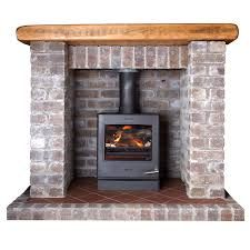 Image result for brick fireplaces for wood burning stoves
