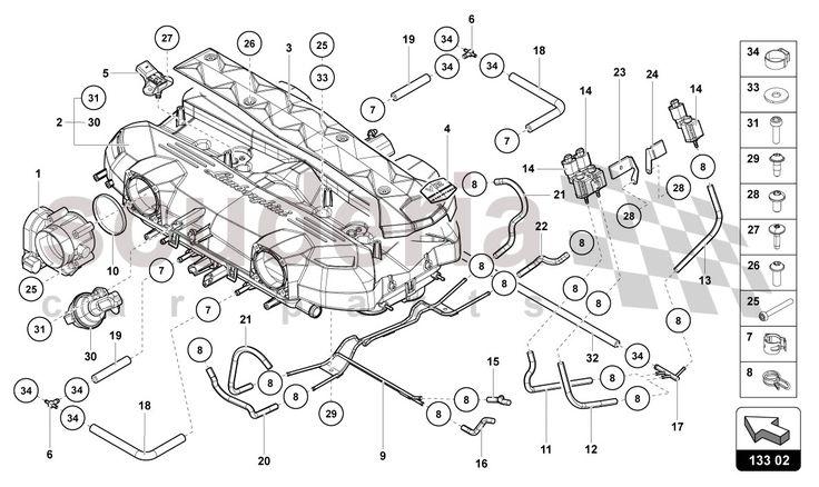 Image Result For Car Engine Diagram