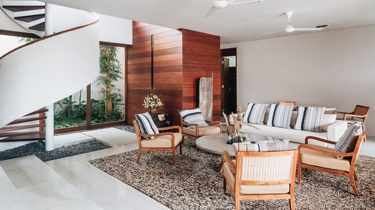 Bali Holiday Villa #bali #indonesia #asianluxuryvillas _____________________ Located in an exclusive villa enclave with views of the ocean rice paddies and distant volcanoes the villa brings a new interpretation to discreet relaxed luxury villa hospitality