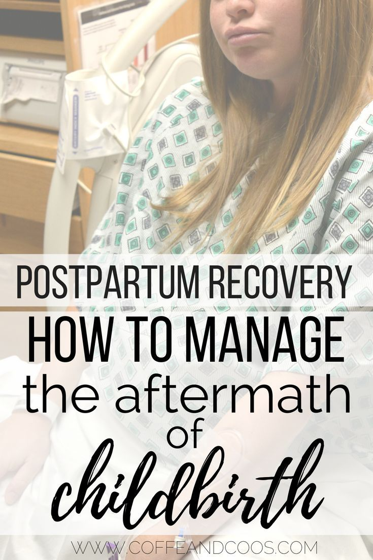 Postpartum Recovery - How to Manage the Aftermath of Childbirth.  Labor, delivery, and the postpartum period are hard.  Learn tips on how to care for your postpartum body and how to manage your postpartum symptoms.