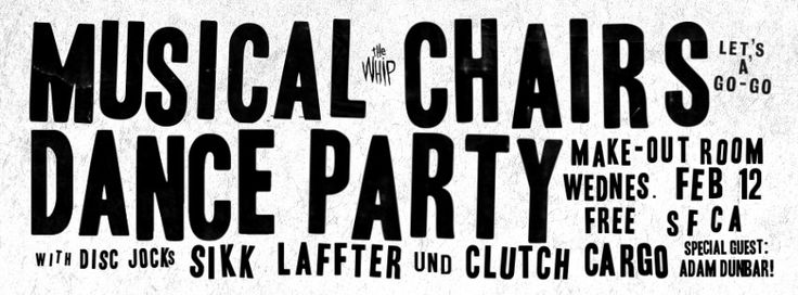 MUSICAL CHAIRS DANCE PARTY | by Sikk Laffter