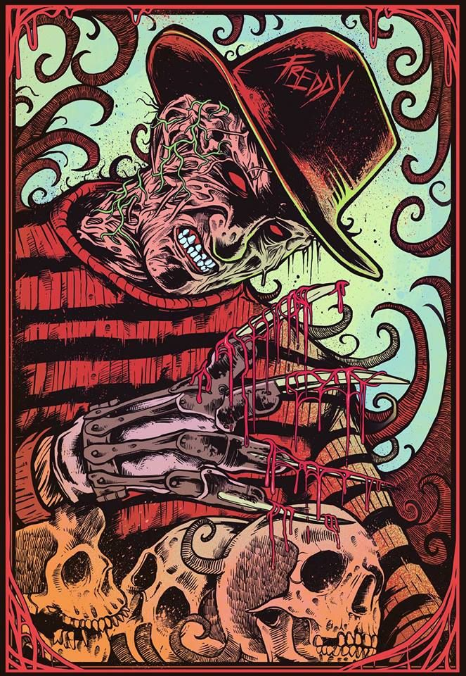 Freddy Krueger by Blumb Design