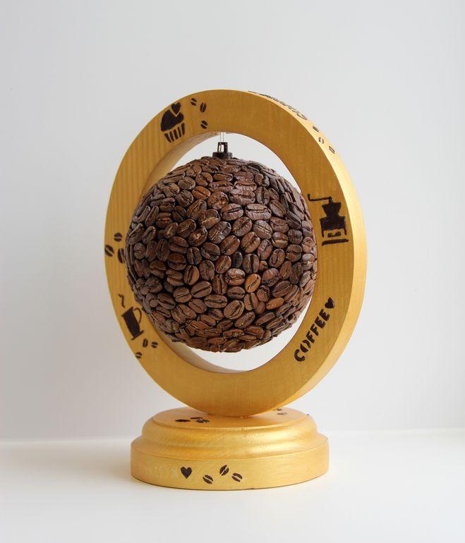 """Интерьерный шар""""Кофейное настроение"""" - Babyblog.ru"""