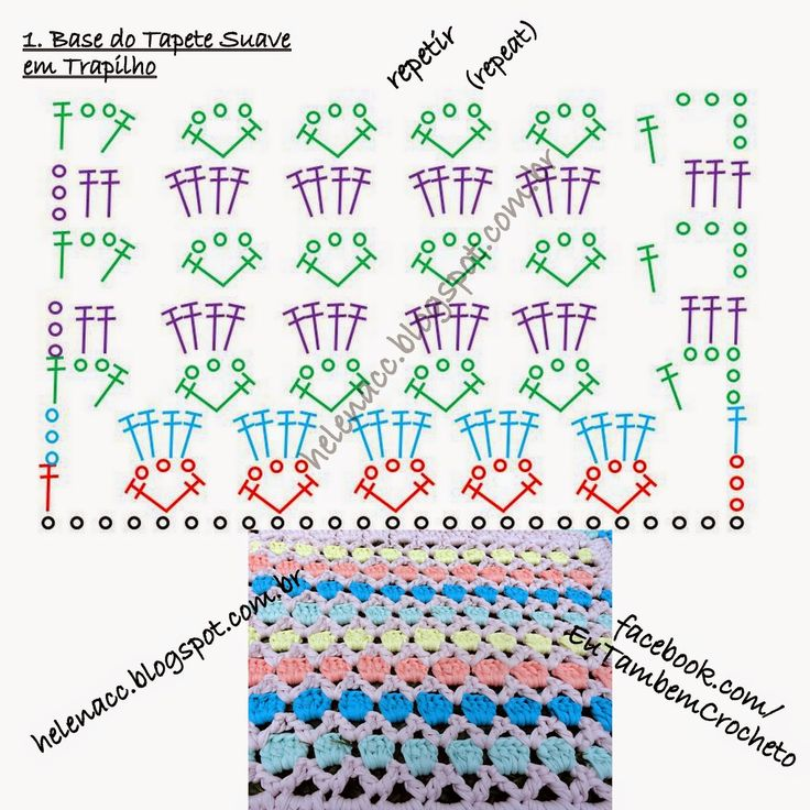 100 best Tapetes trapillo images on Pinterest | Doilies crochet ...