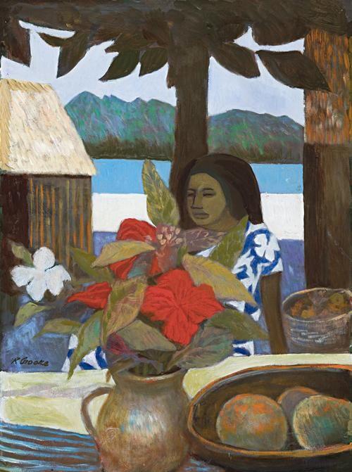 Ray Crooke (1922-) - Island Girl, 1978