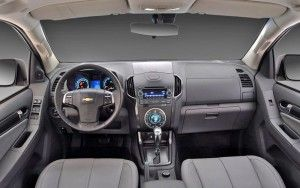 2015 Chevrolet Colorado z71 interior