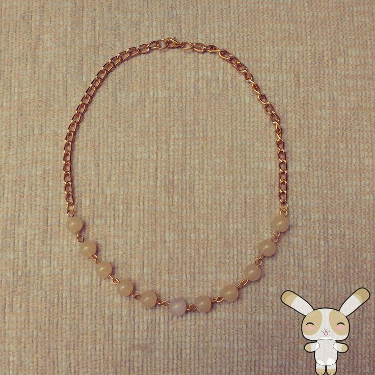 kolye, necklace, boncuk kolye, diy, el yapımı, ben yaptım, el emeği, handmade, takı