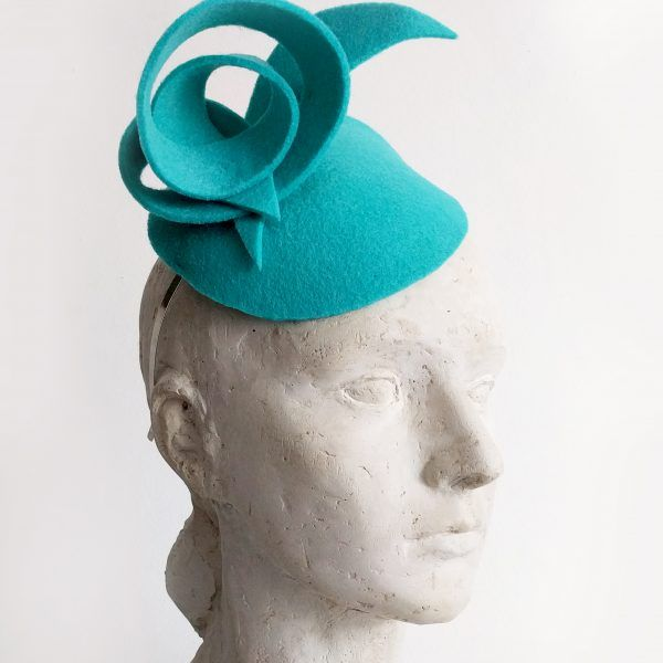 RALUKA Fascinator hat made by Eventivity Accessorize