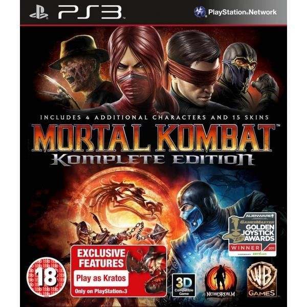 Mortal Kombat Komplete (complete) Edition Game PS3 | http://gamesactions.com shares #new #latest #videogames #games for #pc #psp #ps3 #wii #xbox #nintendo #3ds