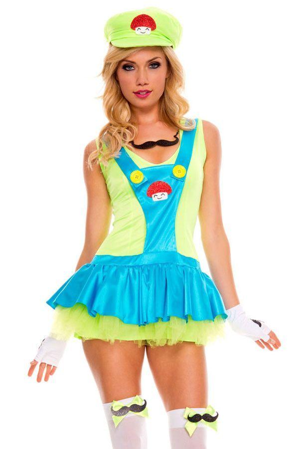 Prix: €21.78 Country Girl & Cowgirl Vert Super Mario Costume Plombier Pas Cher www.modebuy.com @Modebuy #Modebuy #CommeMontre #me #girl #TagsForLikesApp