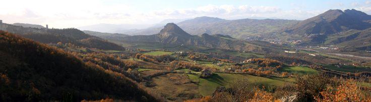 Il progetto MVR - Montefeltro Vedute Rinascimentali: il progetto dei Paesaggi Ritrovati nei quadri dei grandi pittori del Rinascimento.