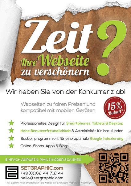 Zeit ihre Webseite zu verschönern ?Webdesign Frankfurt : http://setgraphic.com
