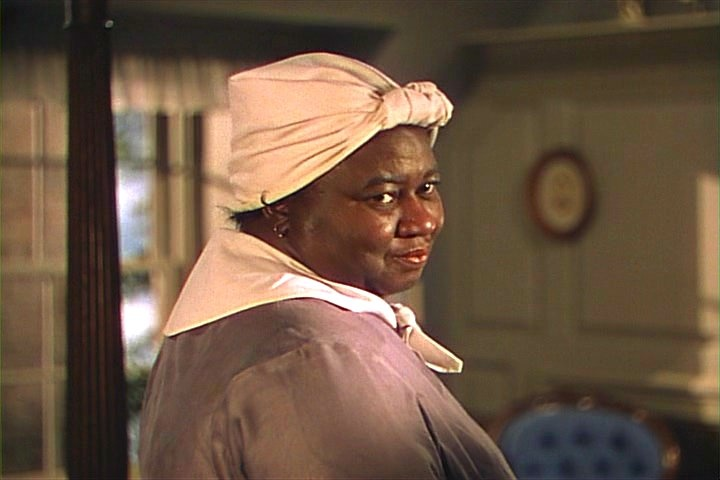 """Hattie McDaniel as Mammy in """"Gone With The Wind""""  (1939)  Best Supporting Actress 1939.  She stole the show."""