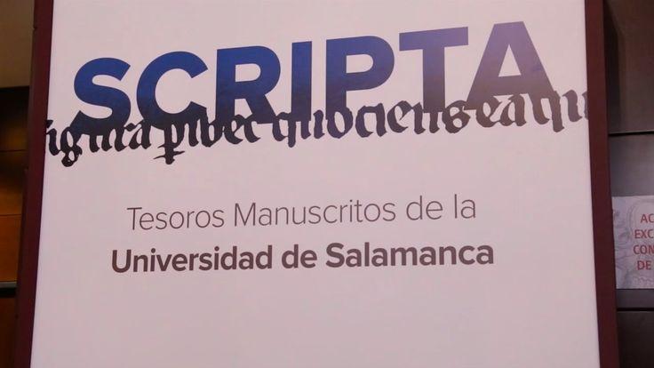 Scripta: tesoros manuscritos de la Universidad de Salamanca