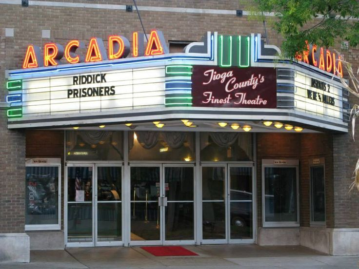 Local movie theaters in pa