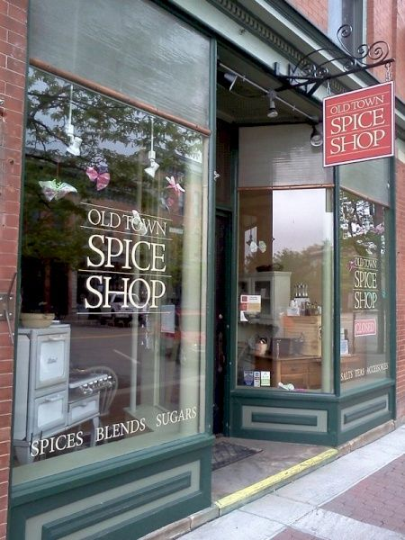 Old Town Spice Shop Store Front