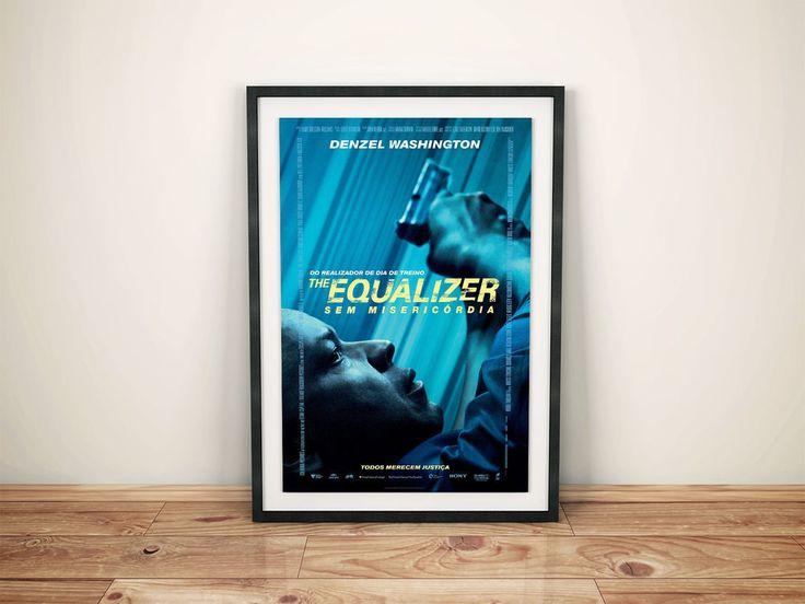 The Equalizer  Movie Poster  V2 24 x 36 #Handmade #PopArt