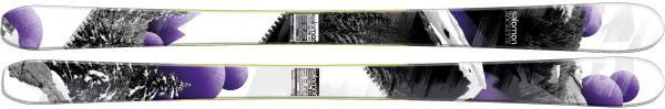 SKI #BuyersGuide preview: #Salomon Rockette 90 $625 Click the link to read more reviews on the year's best skis. #SKI SkiMag.com