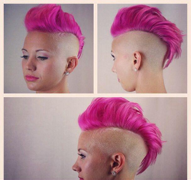 Love pink hair !