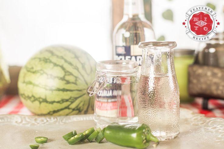 Watermelon Jalapeno Liqueur Ingredients