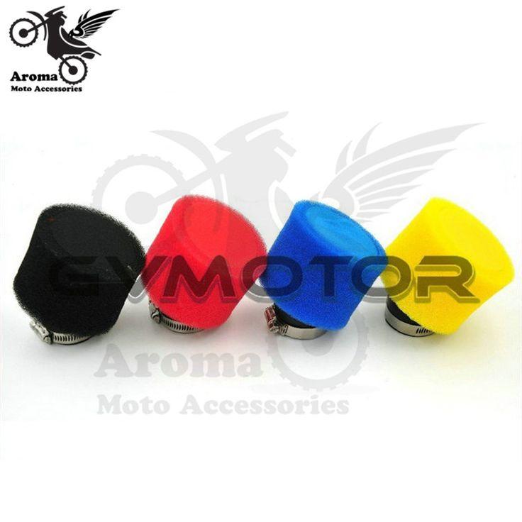 hot Universal 35mm 42mm 45mm 48mm Motorcycle Air Filter Clamp-on Air Filter Cleaner For Honda Yamaha Kawasaki Suzuki unviersal