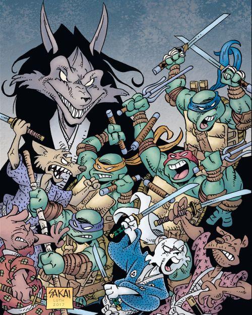 Teenage Mutant Ninja Turtles/Usagi Yojimbo One-Shot - Stan Sakai