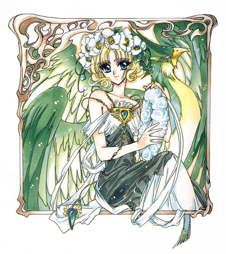 Fuu from CLAMP's Magic Knight Rayearth