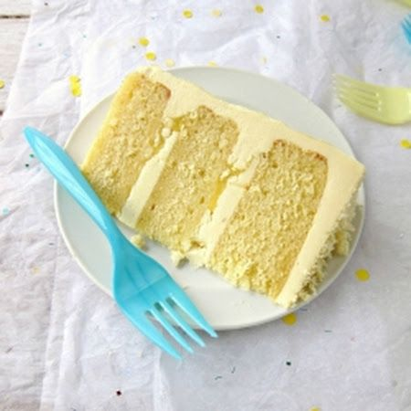 Lemon Layer Cake With Campari Frosting Recipe — Dishmaps