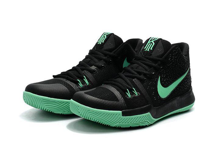 Kyrie Irving Shoes 3 2017 OKE Green Grow Clear Jade BlaCK