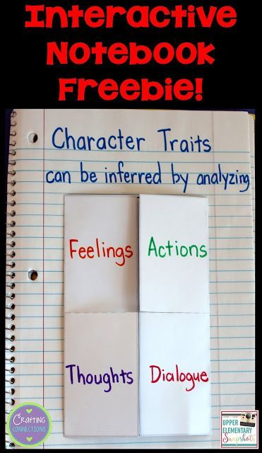 Teach character traits with this FREE character traits activity! It includes…