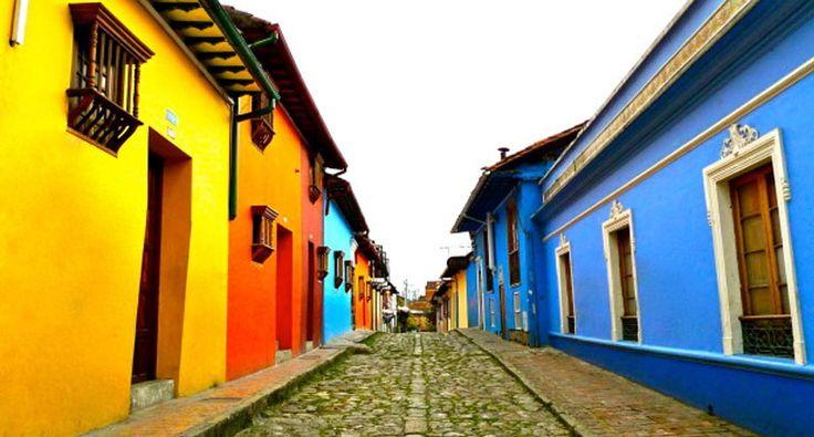 Las 15 casas más raras y coloridas del mundo | La Candelaria, Bogotá D.C., Colombia