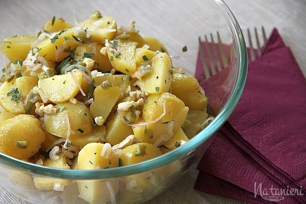 zemiakový šalát s estragónom