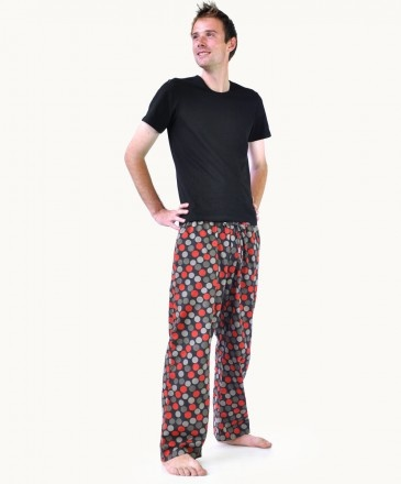 Chocolate Cherry Pyjama Pants  Love the style!