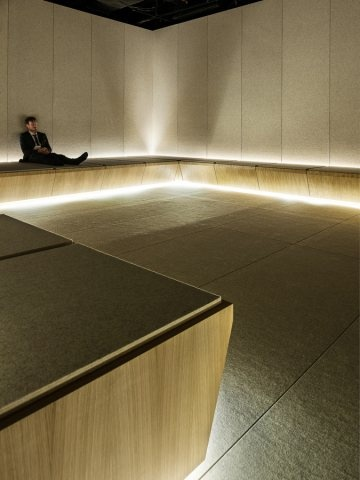 Alex Cochrane Architects 'silence room'