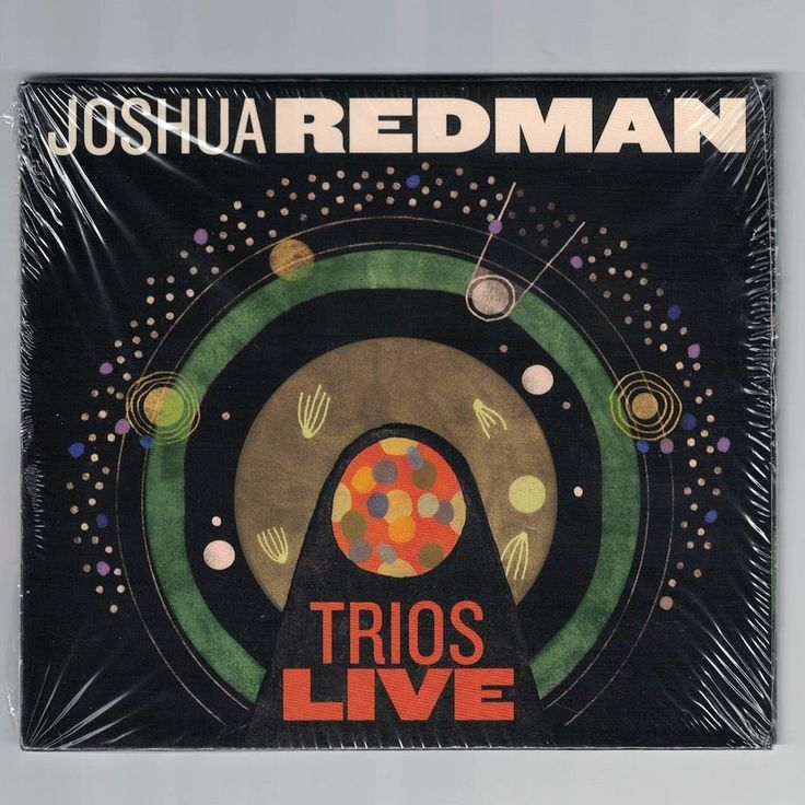 Joshua Redman-Trios Live CD NEW sealed