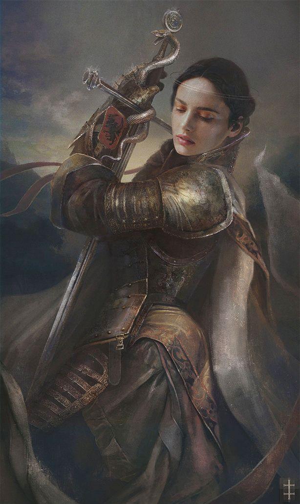 Magdalena eve ventrue art of fantasy pinterest - Fantasy female warrior artwork ...