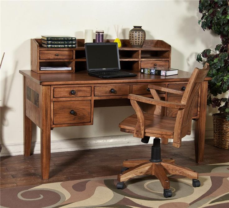 Study At Home Waco Writing Desk And Hutch Making Homes