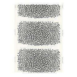 "$7.99 yd. - TRÅDKLÖVER fabric, black, white Width: 59 "" Pattern repeat: 36 "" Width: 150 cm Pattern repeat: 92 cm"