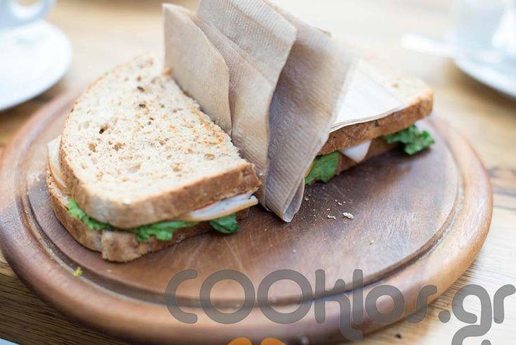 Σάντουιτς ολικής με γαλοπούλα - Santoyits olikis me galopoyla