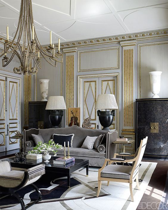 1000 ideas about neoclassical interior on pinterest for Living room 8 place jean rey